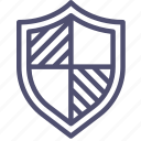 defense, firewall, guard, guardian, protect, protection, secure, security, shield icon