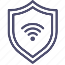 connection, firewall, internet, protection, security, shield, wifi