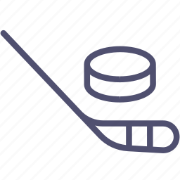club, competition, game, hockey, olympic, puck, sport, stick icon