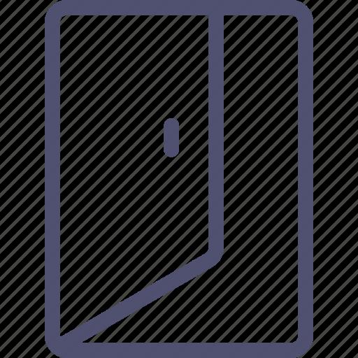 door, exit, quit, sign icon