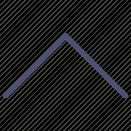 arrow, home, prev, previous, top, up icon