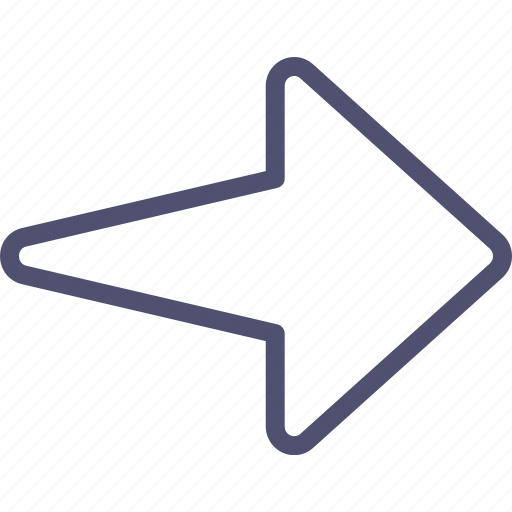 arrow, right icon