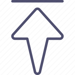arrow, home, rewind, start, top, up icon