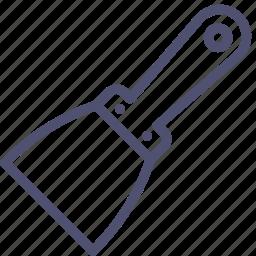 scraper, tool icon