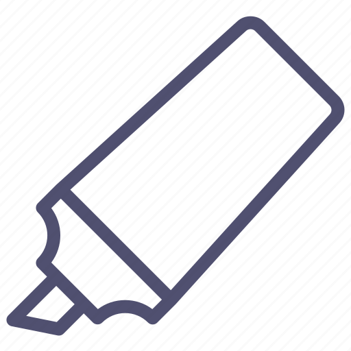 felt, marker, pen, tip, tool icon