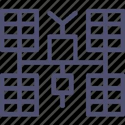 glonass, gps, iss, mks, panels, satellite, solar, space, sputnik icon