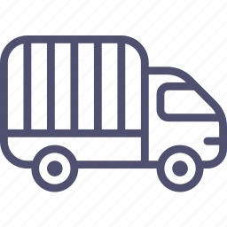 transport, truck, vehicle icon