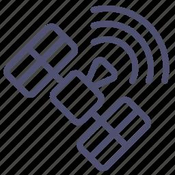 glonass, gps, panels, satellite, signal, solar, space, sputnik icon