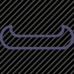 boat, canoe icon