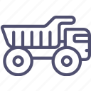 industrial, truck icon