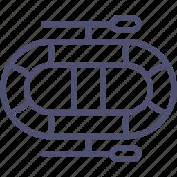 boat, dinghy icon