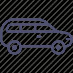 car, estate icon