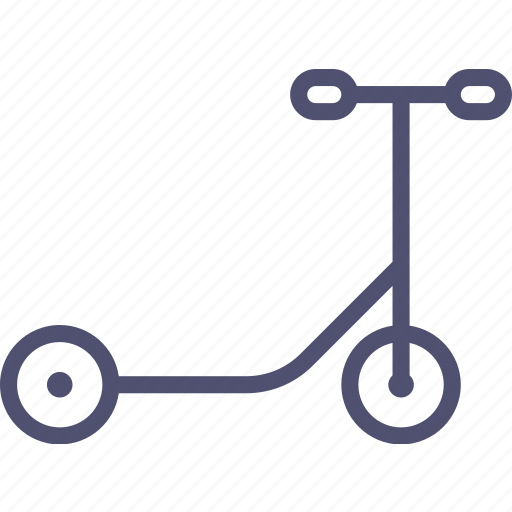 scooter, sport, transport icon