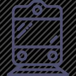railway, sign icon