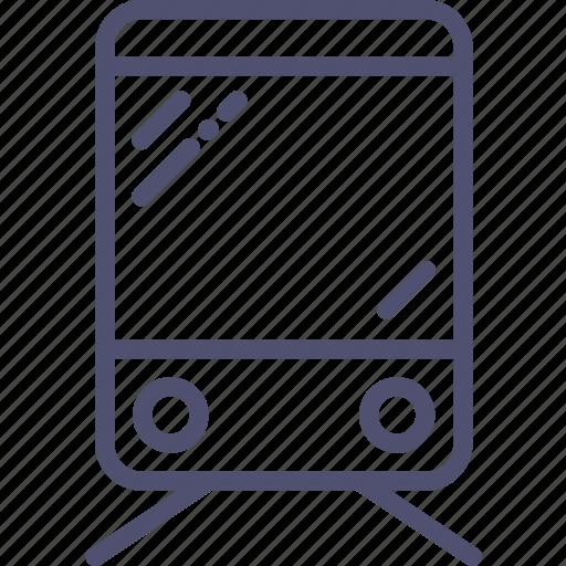 sign, train icon