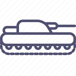 cannon, military, panzer, tank icon