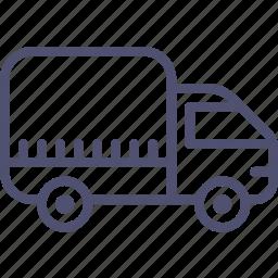 logistic, tilt, transport, truck, vehicle icon