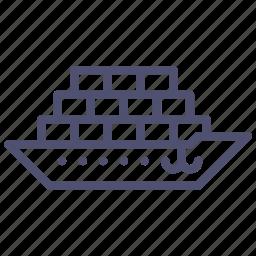 cargo, ship, tanker icon