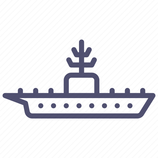aerocarrier, aircraft, carrier, iceboat, icebreaker, military icon