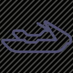 jet, ski icon