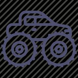 car, monster, truck, wheels icon