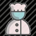 chef, unisex, avatar, cook, profile, person, profession