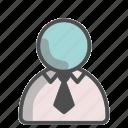 shirt, tie, formal, unisex, avatar, profile, person