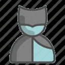 super, hero, batman, unisex, avatar, profile
