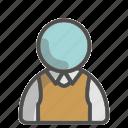vest, shirt, formal, unisex, avatar, profile