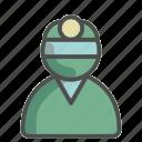 surgeon, unisex, avatar, doctor, profile, hospital