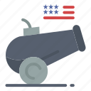 big, cannon, gun, howitzer, mortar icon