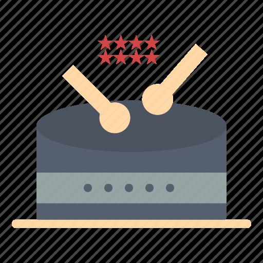 drum, instrument, music, parade icon