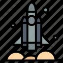launcher, rocket, spaceship, transport, usa