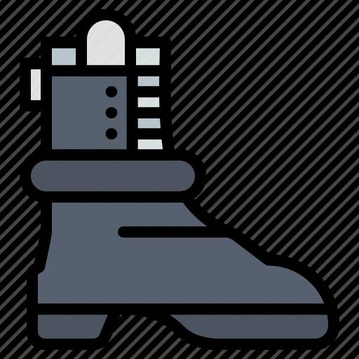 american, boot, shose icon