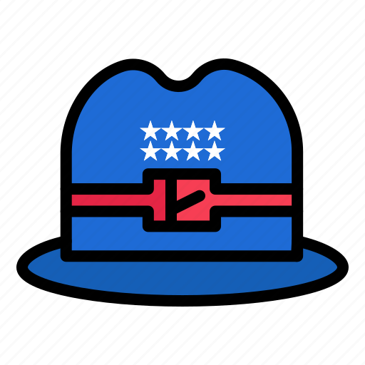 American, cap, hat icon - Download on Iconfinder