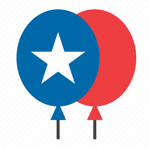american, balloon, election, elections, politics, presidential, united states icon