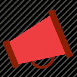 loudhailer, loudspeaker, megaphone, speaker icon