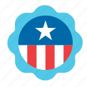 usa, 4th july, elections, united states, american, america, badge