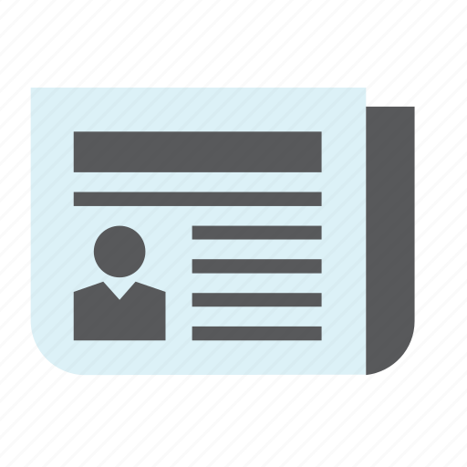 info, information, journalism, news, newspaper, publication icon
