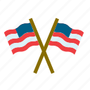 america, american, flag, united states, us, usa icon