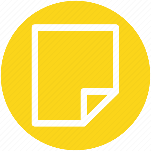 doc, document, file, note, page, paper, text icon