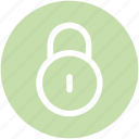 lock, padlock, retro, safe icon