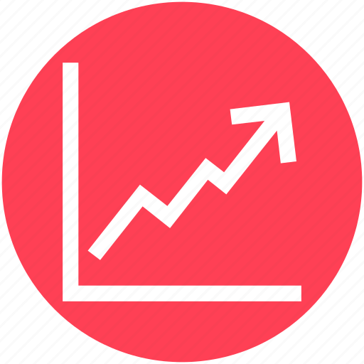 analytics, chart, graph, line, report, statistics icon