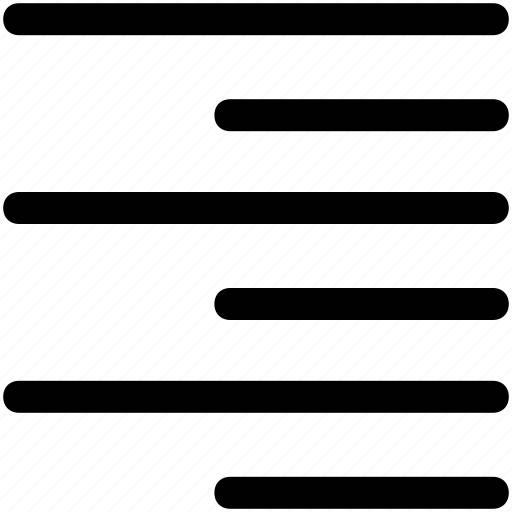 align, alignment, left, text icon