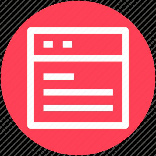 browser, open, web application, webpage, website icon