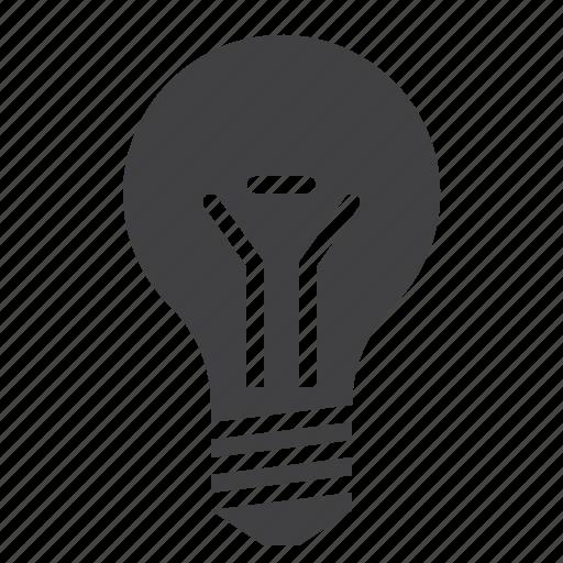 bulb, lamp, light bulb icon