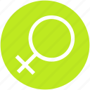 female, gender, sex, sign icon
