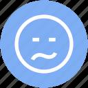 emoticons, face, smiley icon