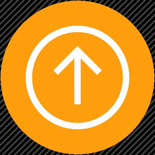 arrow, sign, up, upload, uploading icon
