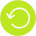 arrow, circle, history, refresh, reload icon